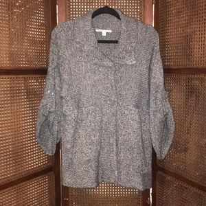 Carolyn Taylor Cardigan Sweater w/ Buttons